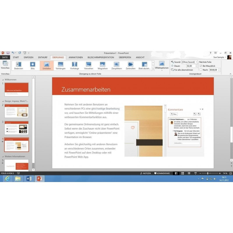 Windows 8.1 Professionnel + Office 2016 Professionnel