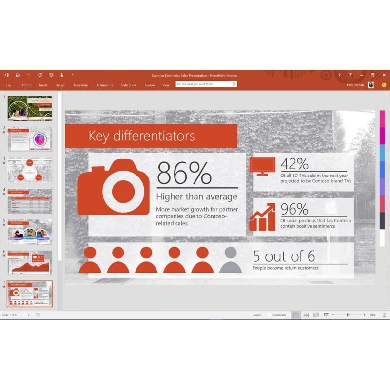 Windows 7 int grale office 2010 famille petites - Pack office famille et petite entreprise ...